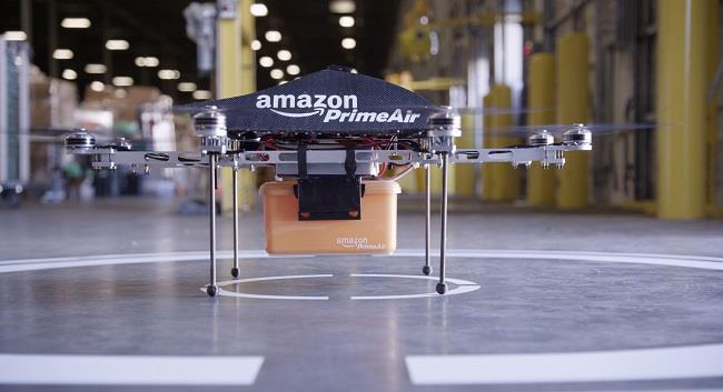 drone ile kargo