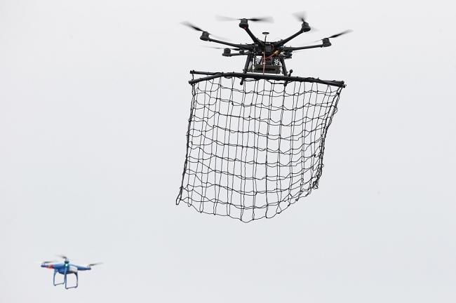polis drone, drone police