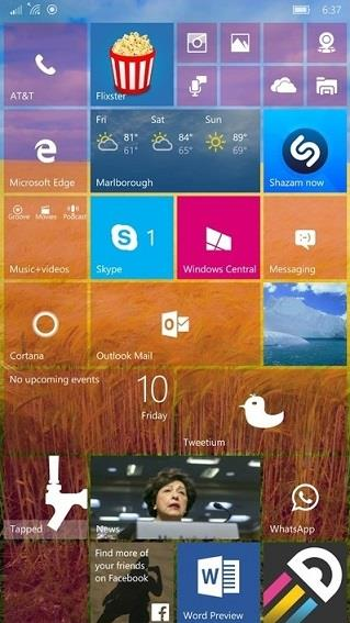 windows 10 mobile güncelleme