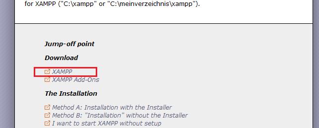 PHP kurulumu